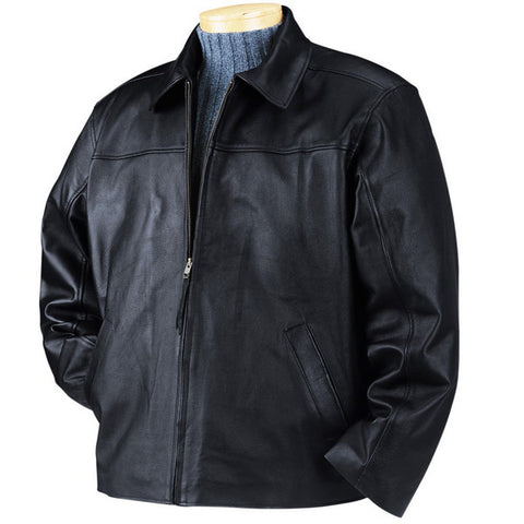 Image of Bullet Blocker NIJ IIIA Bulletproof Leather Jacket