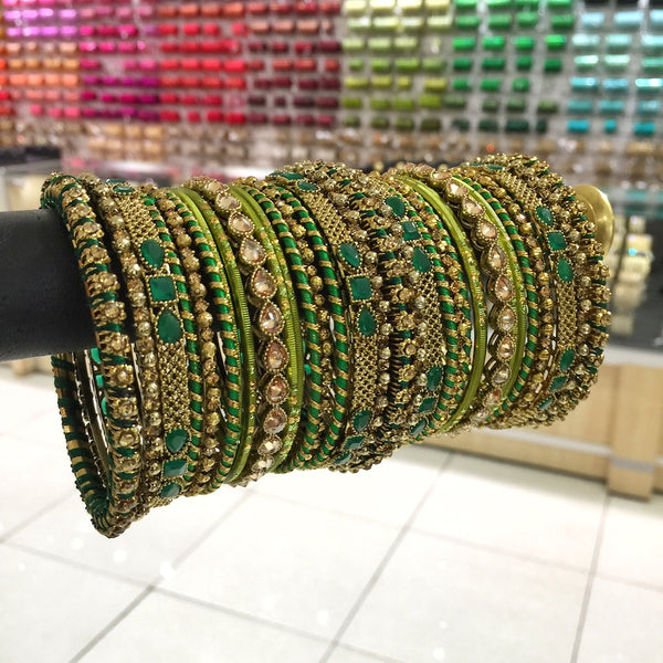 Thread bangles - a must have!