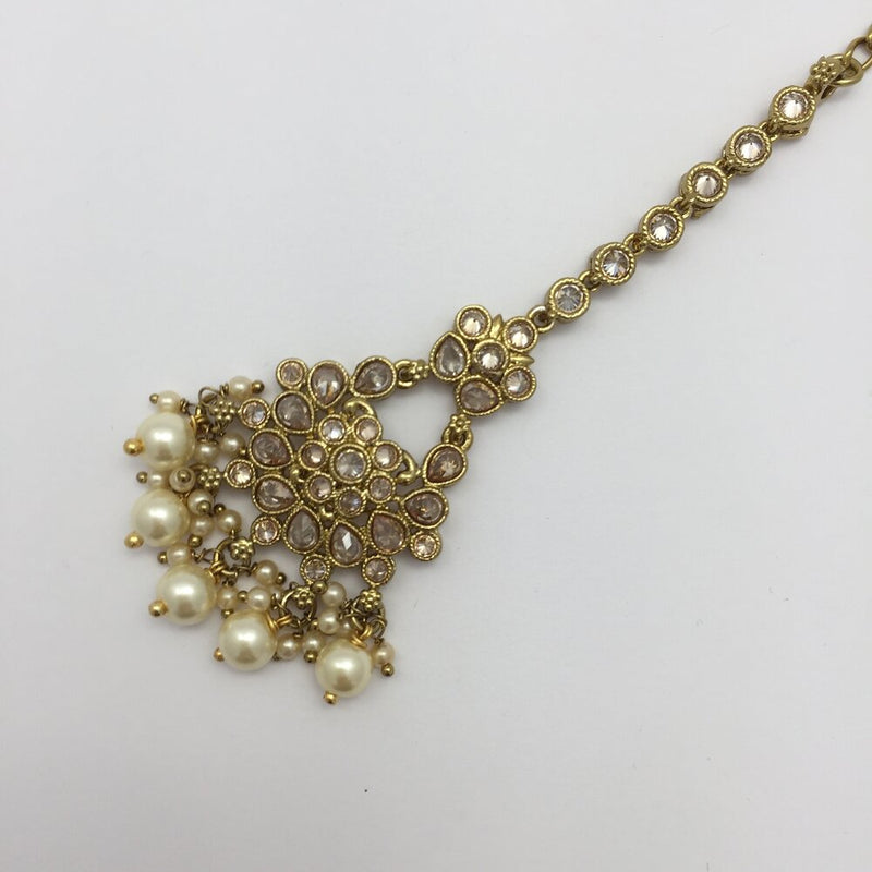 Trinket Pearl Tikka Headpiece