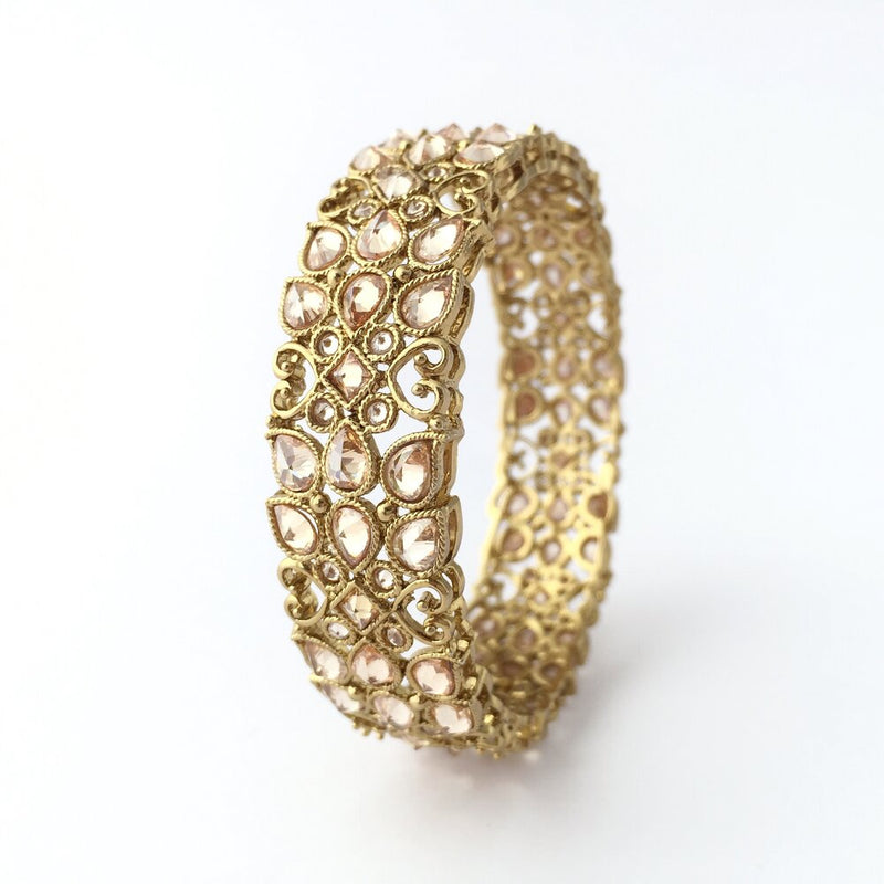 Honeysuckle Champagne Bangle