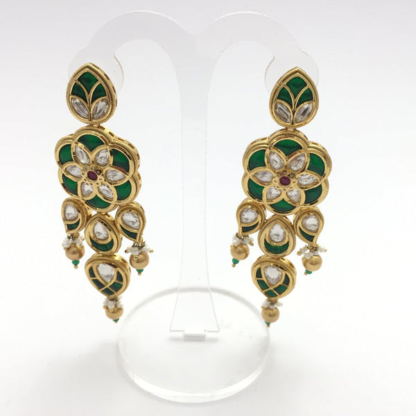 Zeenat Kundan Bridal Necklace Set