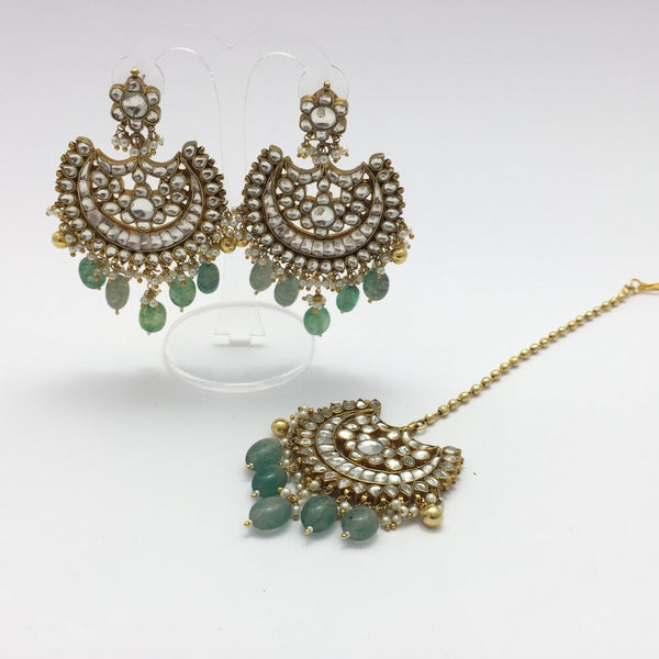 Gauhar Kundan Bridal Necklace Setting