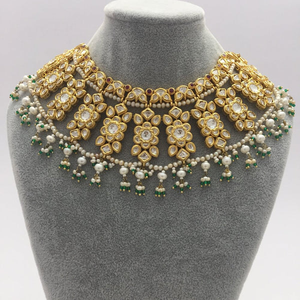 Masuma Kundan Bridal Necklace Set