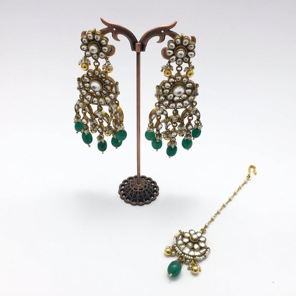 Bakshi Kundan Bridal Necklace Set