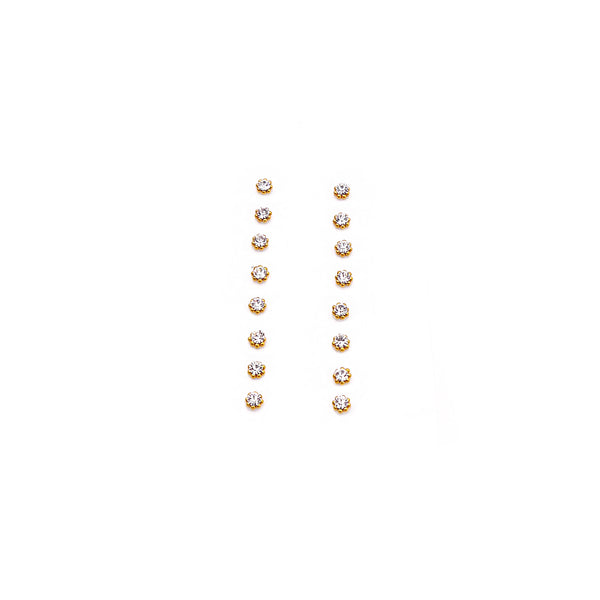 Daisy Gold Champagne Bindi - 3mm