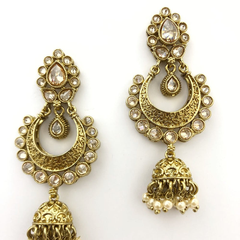 Champagne Traditional Earrings