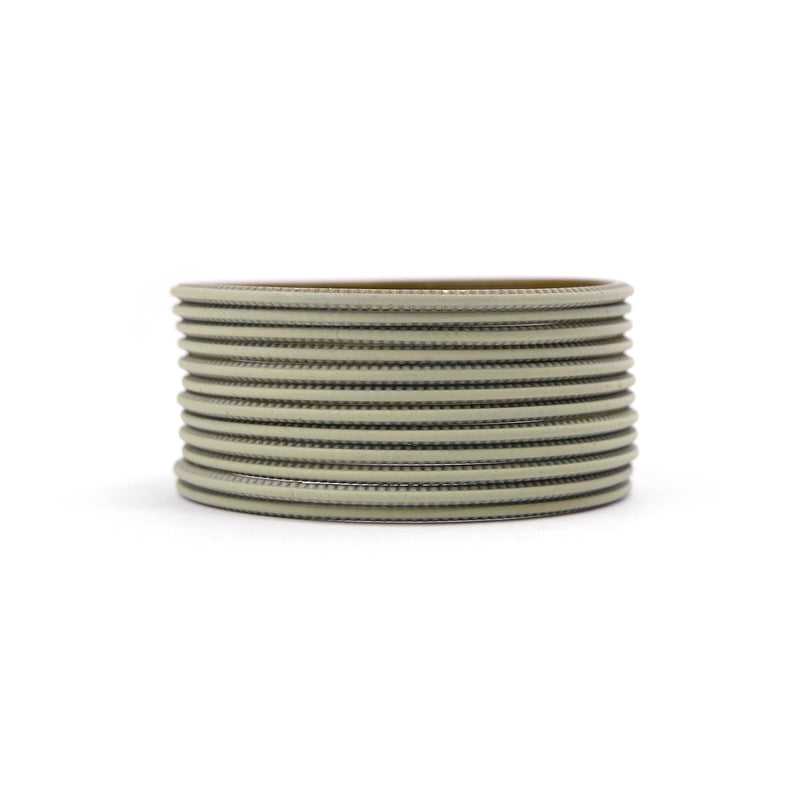 Forest Green Plain Bangles