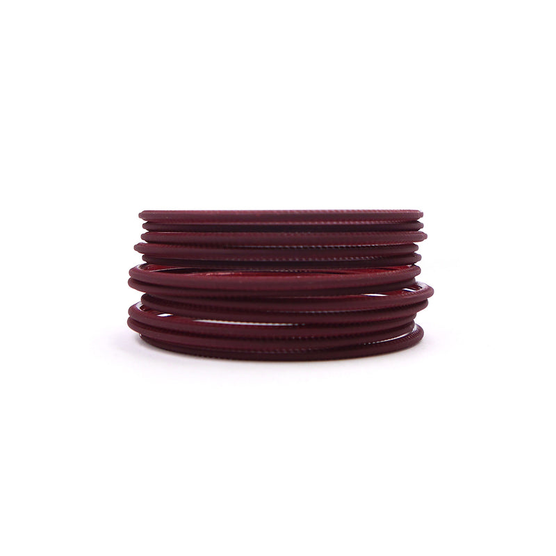 Mulberry Plain bangles
