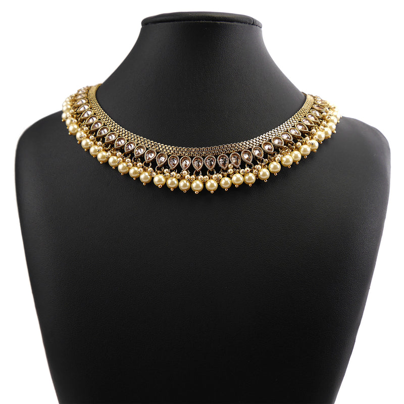 Milan Pearl Necklace Set