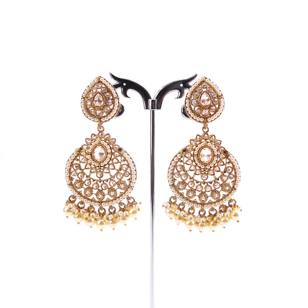 Monsoon Pearl and Antique Earrings