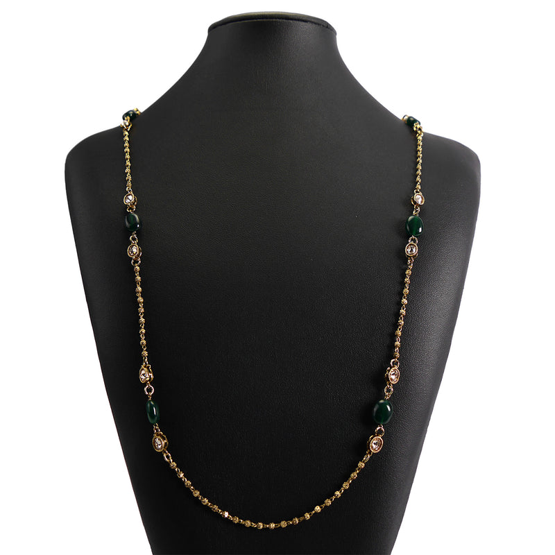 Ivy Long Chain in Green