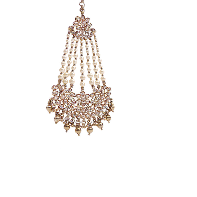 Avni Pearl and Gold Jhumar