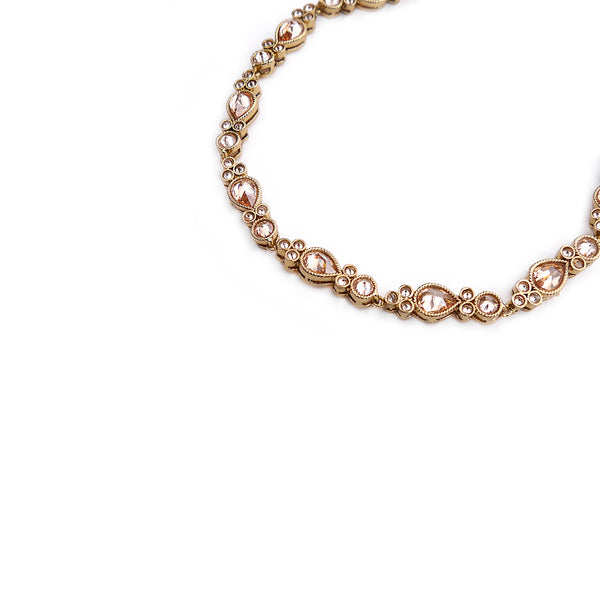 Serena Anklet in Gold