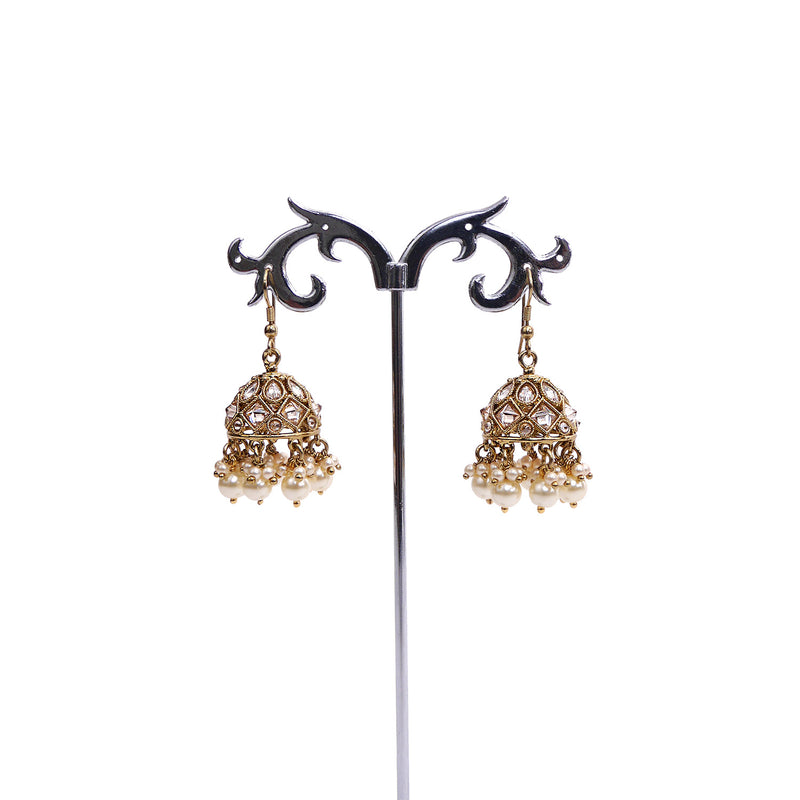 Small Cluster Jhumka Earrings