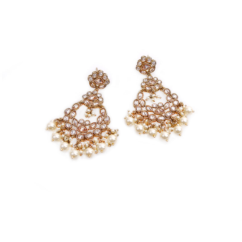 Willow Antique Pearl Earrings