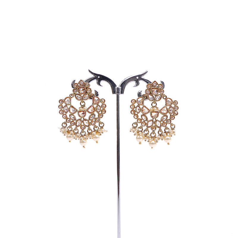 Antique Chandbali Earrings