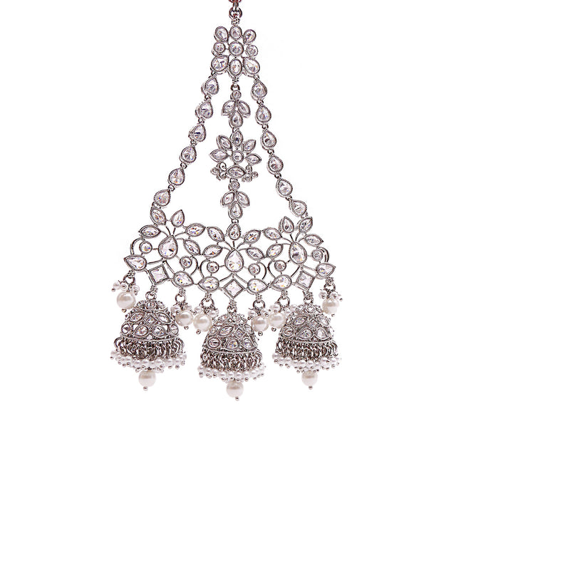 Jhumka Jhumar in Rhodium
