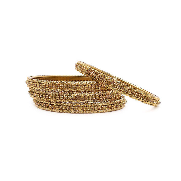 Champagne and Antique Medium Bangles
