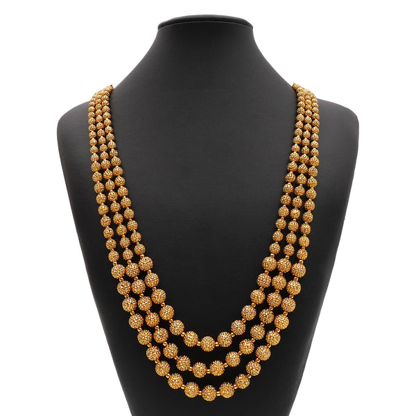 Roopali South-Indian Long Necklace Set