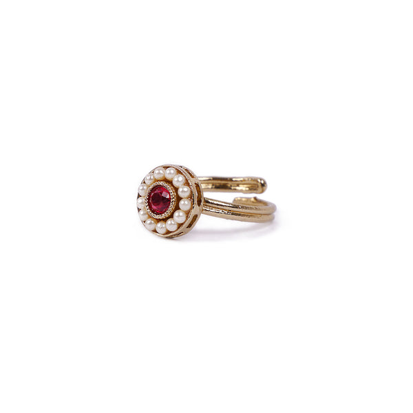 Leela Ring in Hot Pink