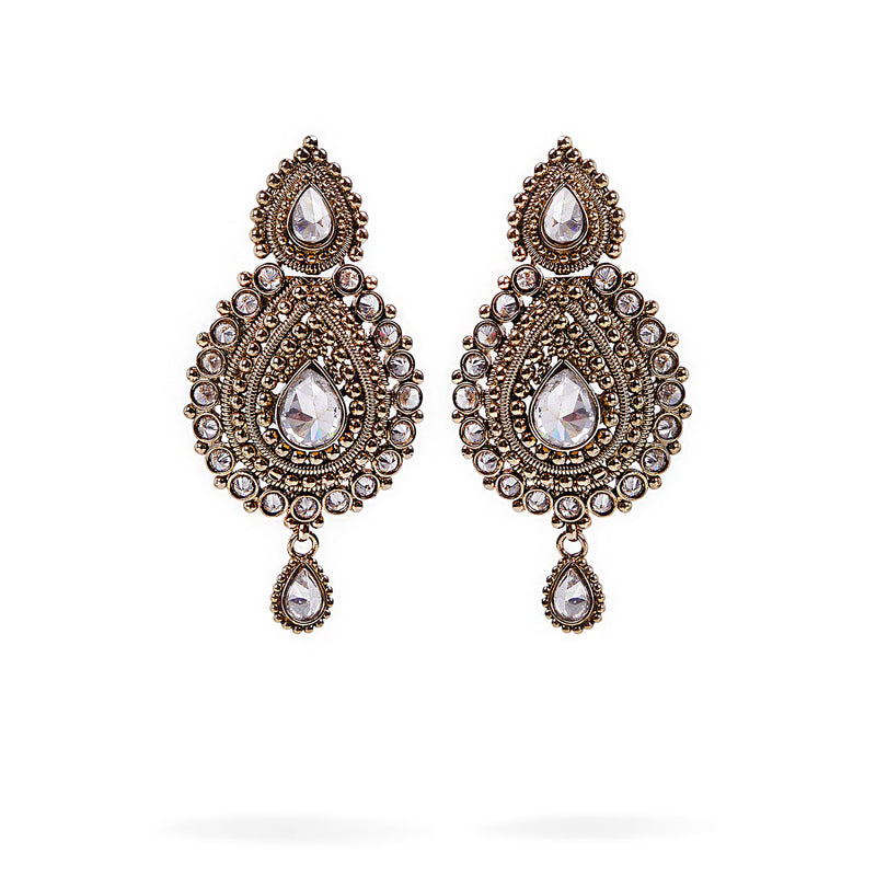 Hemal Long Earrings