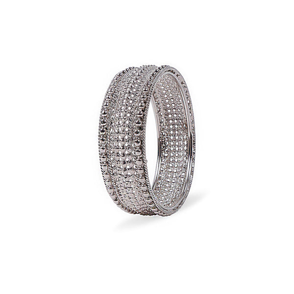 RHODIUM BANGLE