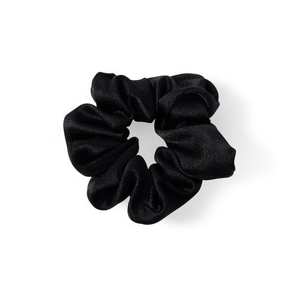 BLACK SATIN HAIR BAND