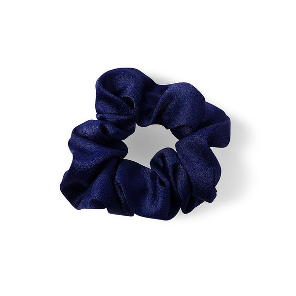 NAVY SATIN HAIR BAND