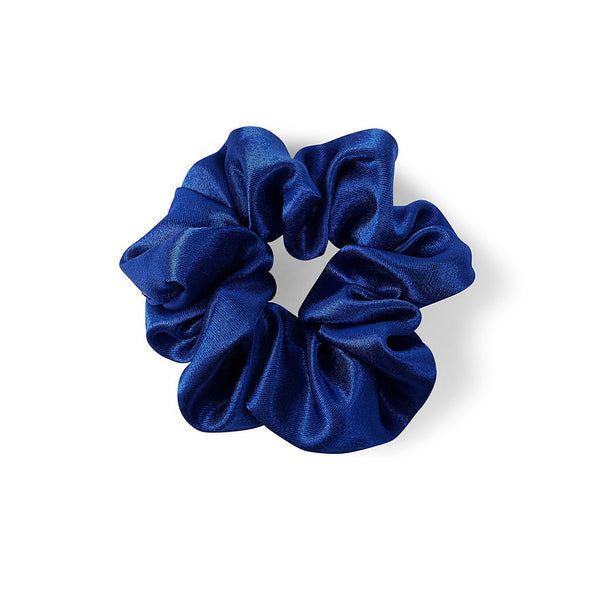 ROYAL BLUE SATIN HAIR BAND