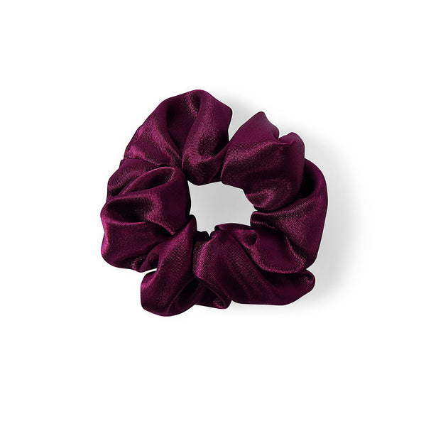 PURPLE SATIN HAIR BAND