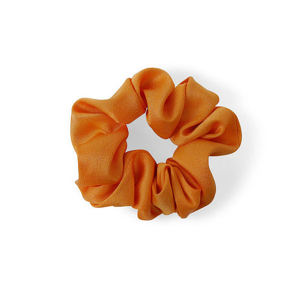 LIGHT ORANGE SATIN HAIR BAND