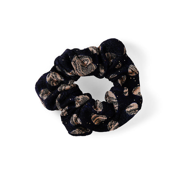 NAVY AND CREAM HAIR BAND