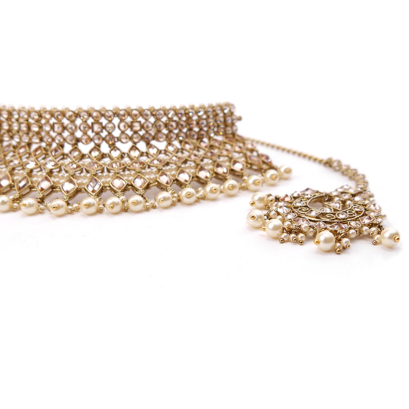 Zoya Bridal Necklace Set