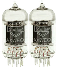 Load image into Gallery viewer, MULLARD 12AX7 ECC83 Long Plate Preamp Tubes