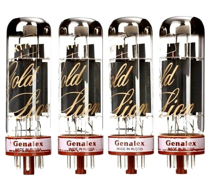 Genalex Gold Lion Matched KT77 / EL34 / 6CA7 Power Tubes
