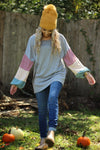 Girls just want to have fun bubble sleeve top