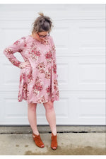 Take A Twirl Floral Dress