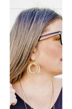 Hippie Soul Hoop Earrings