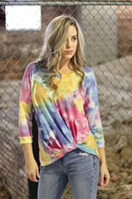 Twist And Shout Tie Dye Top