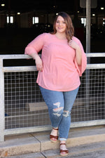 Above And Beyond Top In Blush