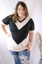 A Welcome Change Chevron Top