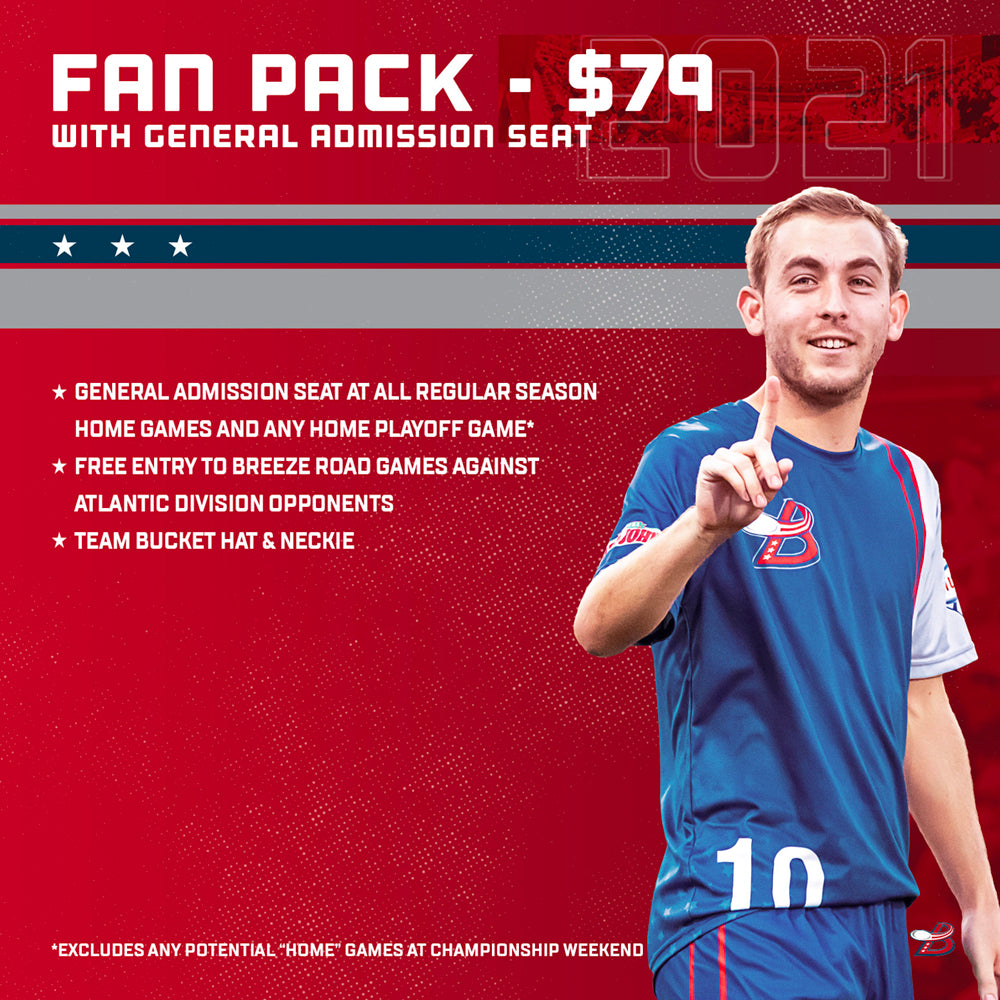 2021 Fan Pack With General Admission Seat
