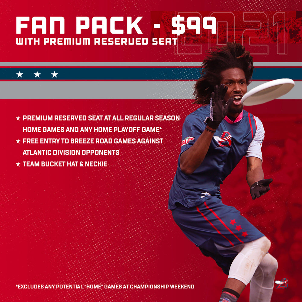 2021 Fan Pack With Premium Reserved Seat