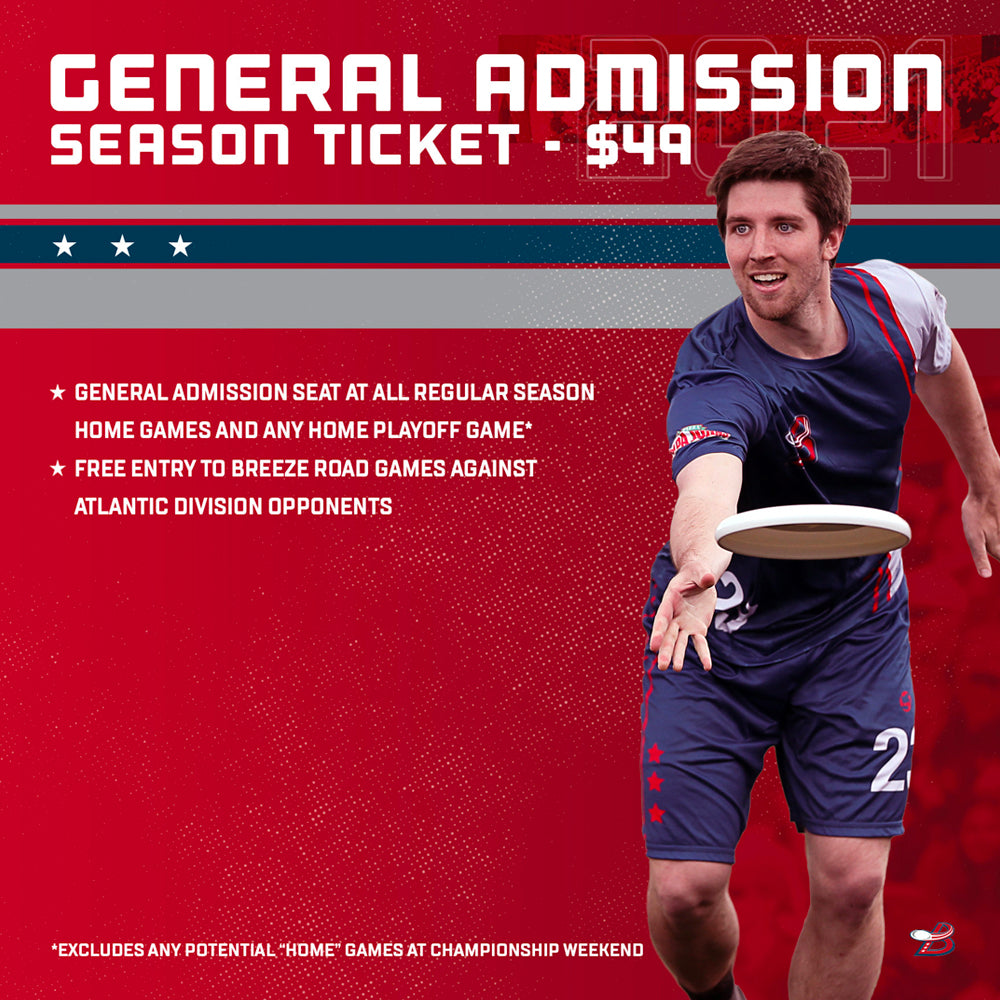 2021 General Admission Season Ticket