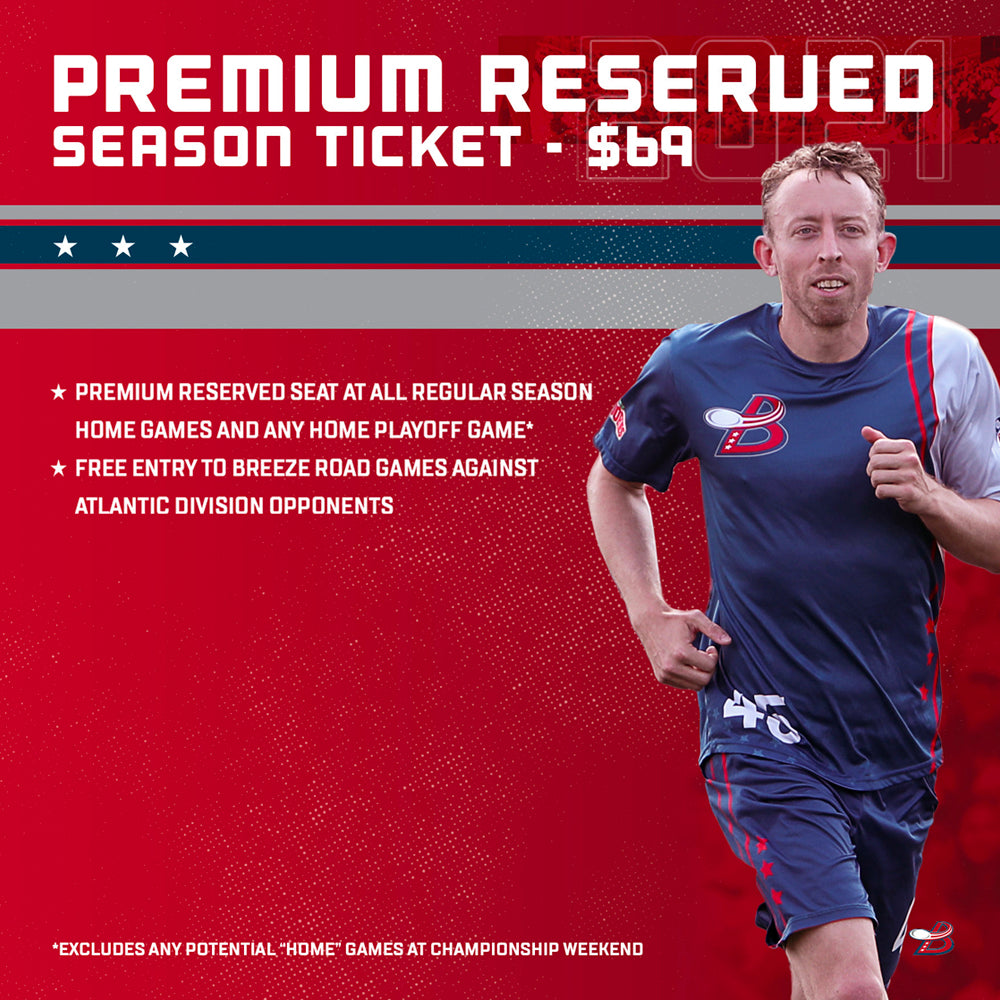 2021 Premium Reserved Season Ticket