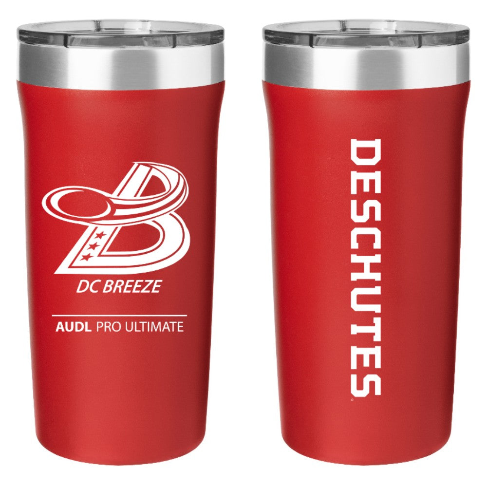 Stainless Steel Red Hot/Cold Tumbler