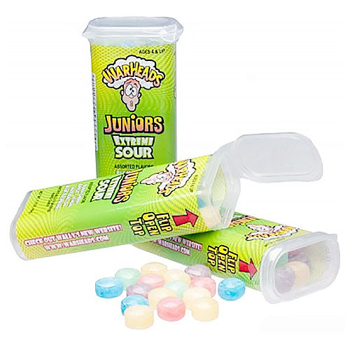 Warheads Mini Extreme Sour Candy Tins - 18 Count