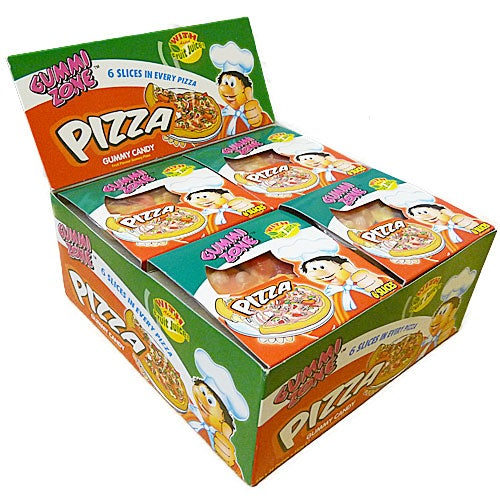 What Next Candy Gummy Pizzas - 24 Count