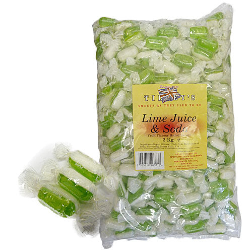 Tilley's Lime Juice & Soda Wrapped - 3kg