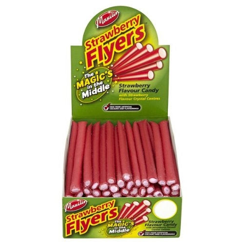 Maxilin Strawberry Flyers - 60 Count